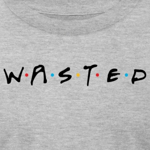 Wasted Friends - Men's T-Shirt by American Apparel