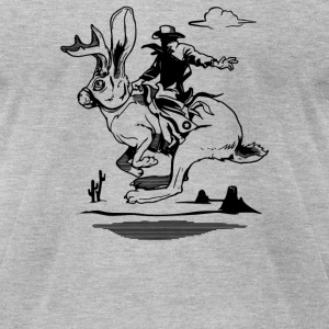 Jackalope - Men's T-Shirt by American Apparel