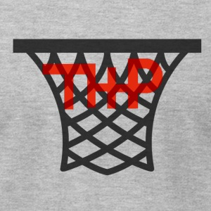 Hoop logo - Men's T-Shirt by American Apparel