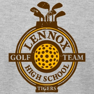 Lennox Golf Team High School Tigers - Men's T-Shirt by American Apparel