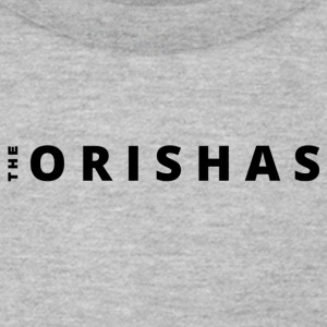 The Orishas (Black Letters) - Men's T-Shirt by American Apparel