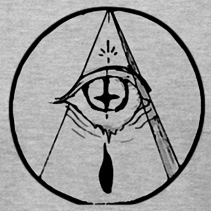occult eye - Men's T-Shirt by American Apparel