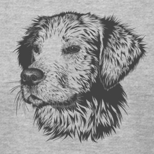 dog Dream - Men's T-Shirt by American Apparel