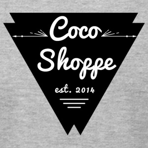 cocoshoppelogo - Men's T-Shirt by American Apparel