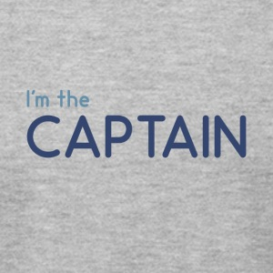 I m the Captain - Men's T-Shirt by American Apparel