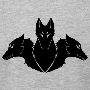 Cerberus (BLACK) - Men's T-Shirt by American Apparel