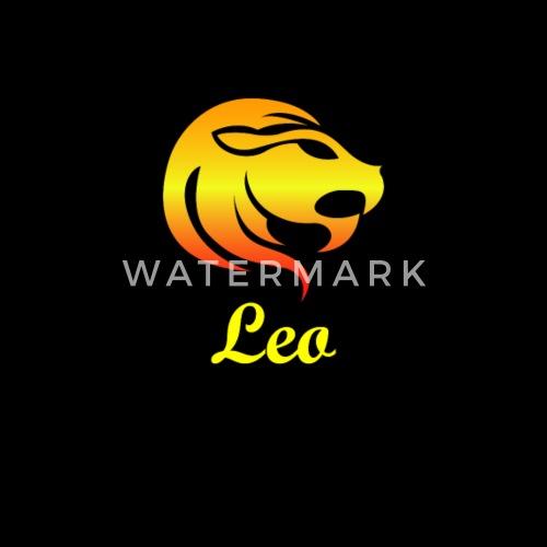 Leo Fire Sign Graphic Zodiac Birthday Gift Idea Horoscope Design