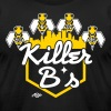 Killer B's Long Sleeve Shirts - Men's Fine Jersey T-Shirt