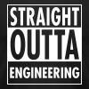 Straight Outta Engineering - Men's Fine Jersey T-Shirt