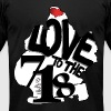 Love to the 718 (Brooklyn) - Men's Fine Jersey T-Shirt