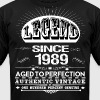 LEGEND SINCE 1989 - Men's Fine Jersey T-Shirt