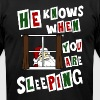 Creepy Santa Claus ugly Christmas sweater - Men's Fine Jersey T-Shirt