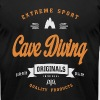 Cave Diving T-shirt - Men's Fine Jersey T-Shirt