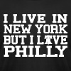 Live New York Love Philly - Men's Fine Jersey T-Shirt
