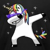 Dabbing Unicorn - Men's Fine Jersey T-Shirt