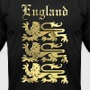 Royal Arms of England - Men's Fine Jersey T-Shirt