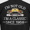 Classic since 1968 - Men's Fine Jersey T-Shirt