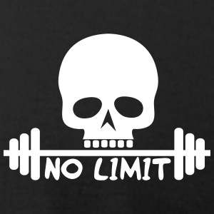 No Limit / Body / skull - Men's T-Shirt by American Apparel