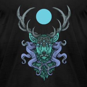 Cthulhu's stag - blue moon
