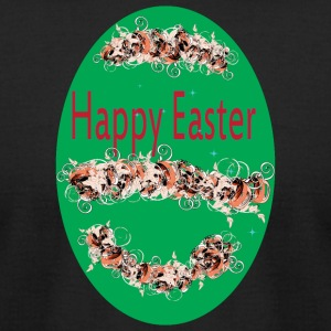 happy Easter green - Men's T-Shirt by American Apparel