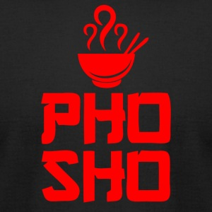 Pho Sho Foodie Asian Food - Men's T-Shirt by American Apparel