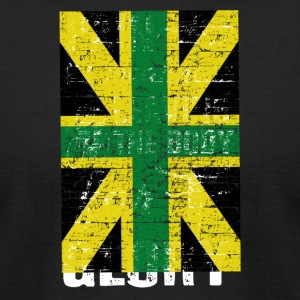 jamaicanrootsflag - Men's T-Shirt by American Apparel