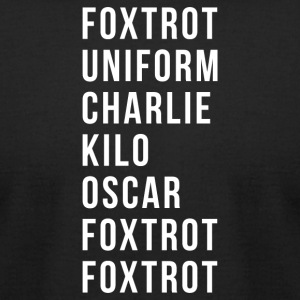 Fox-trot - T-shirt pour hommes American Apparel