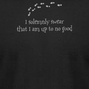 I Solemnly Swear That - Men's T-Shirt by American Apparel