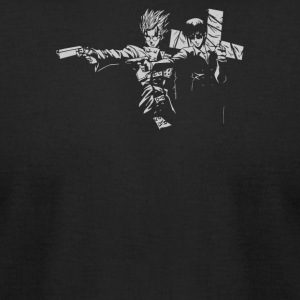 Trigun Fiction - Men's T-Shirt by American Apparel