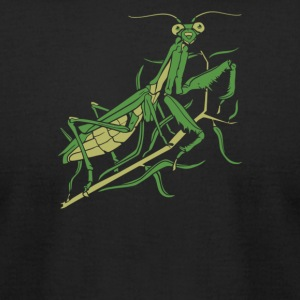 Praying Mantis - Men's T-Shirt by American Apparel