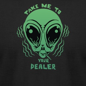 Take Me To Your Dealer - Men's T-Shirt by American Apparel