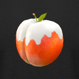 Milky Peach - Men's T-Shirt by American Apparel