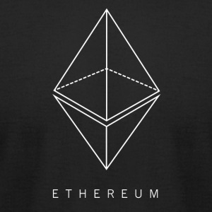 Ethereum Blockchain - Crypto - Men's T-Shirt by American Apparel