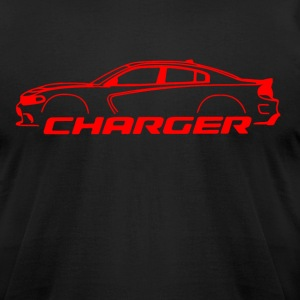 Red Charger - Men's T-Shirt by American Apparel