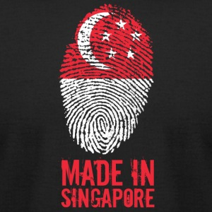 Made In Singapore / 新加坡共和国 - Men's T-Shirt by American Apparel