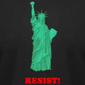 RESIST - Men's T-Shirt by American Apparel