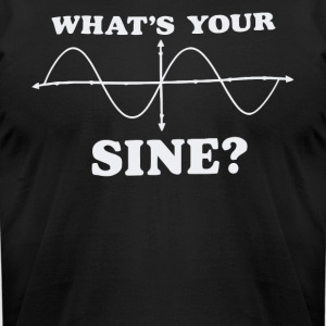 What's your sine shirt - Men's T-Shirt by American Apparel