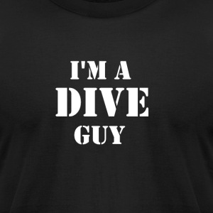 Dive Guy - Men's T-Shirt by American Apparel