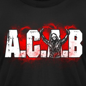 ACAB Pyro - Men's T-Shirt by American Apparel