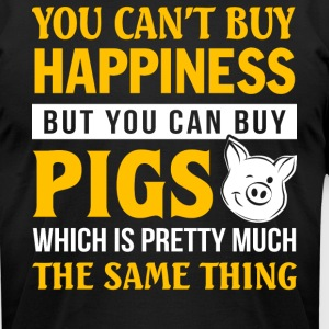 You Can Buy Pigs T Shirt - Men's T-Shirt by American Apparel