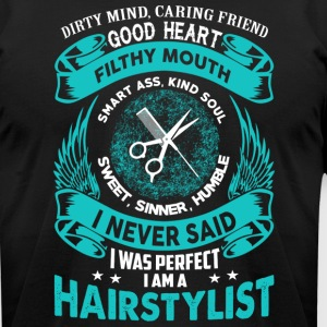 Perfect Hairstylist - Men's T-Shirt by American Apparel
