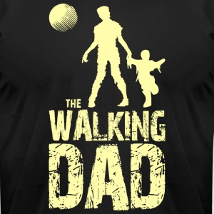 The Walking Dad T Shirt - Men's T-Shirt by American Apparel