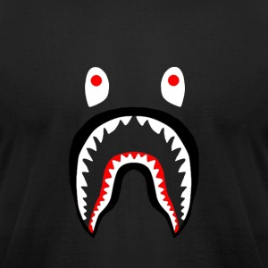 bape shark - Men's T-Shirt by American Apparel
