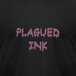 Plagued ink tag - Men's T-Shirt by American Apparel