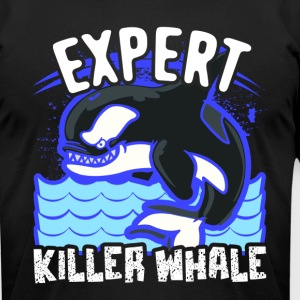 EXPERT KILLER WHALE SHIRTS - Men's T-Shirt by American Apparel