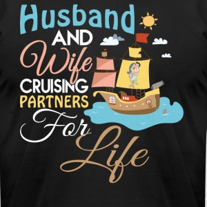 Husband And Wife Cruising T Shirt - Men's T-Shirt by American Apparel