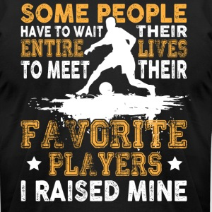 Favorite Soccer Players T Shirt - Men's T-Shirt by American Apparel