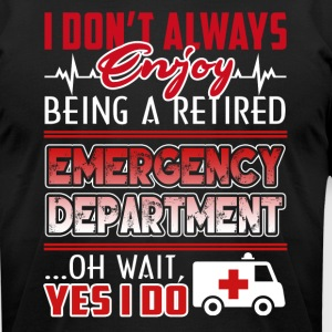 EMERGENCY DEPARTMENT SHIRT - Men's T-Shirt by American Apparel