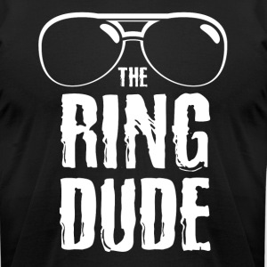 The Ring Dude - Funny Wedding Bearer T-Shirt - Men's T-Shirt by American Apparel