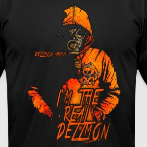 THE REAL DEZZMON - Men's T-Shirt by American Apparel